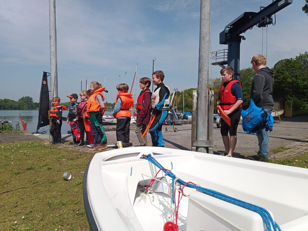 Opti-Training beim DUYC 1