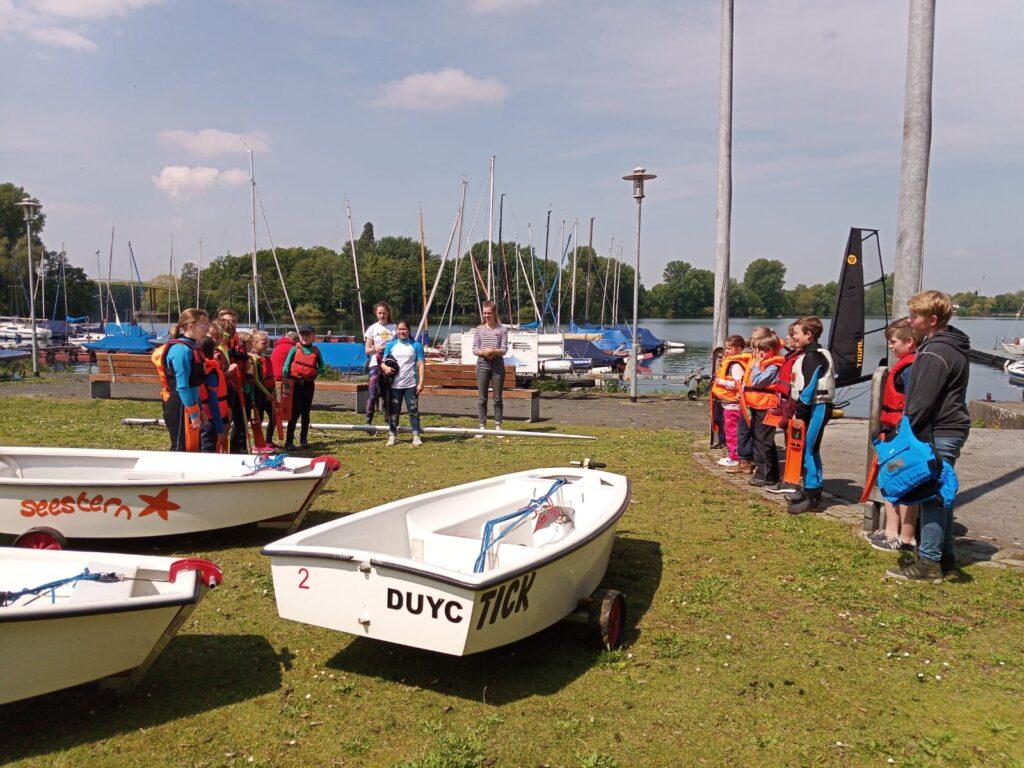 Opti-Training beim DUYC 19