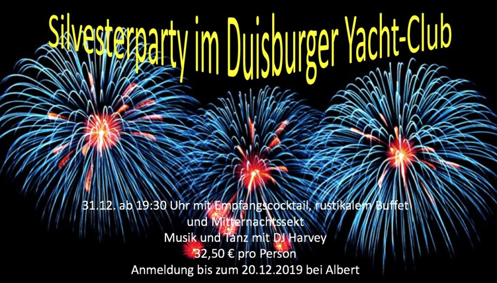 Silvesterparty im DUYC 4