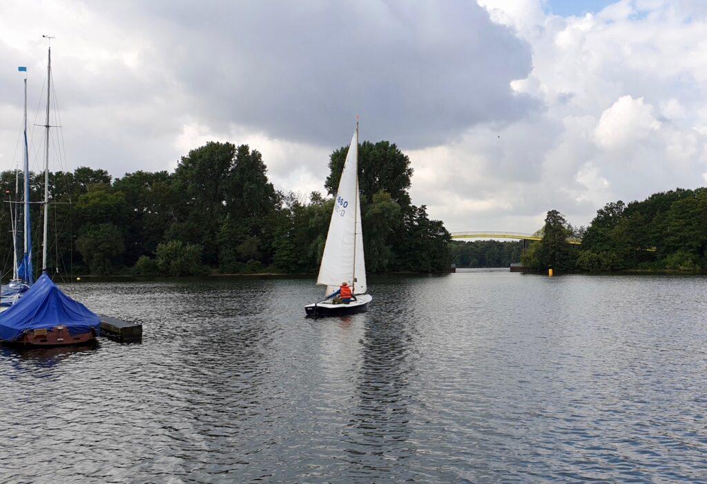 2. praktische Prüfung zum Sportboot-Führerschein Binnen am 9. September 1