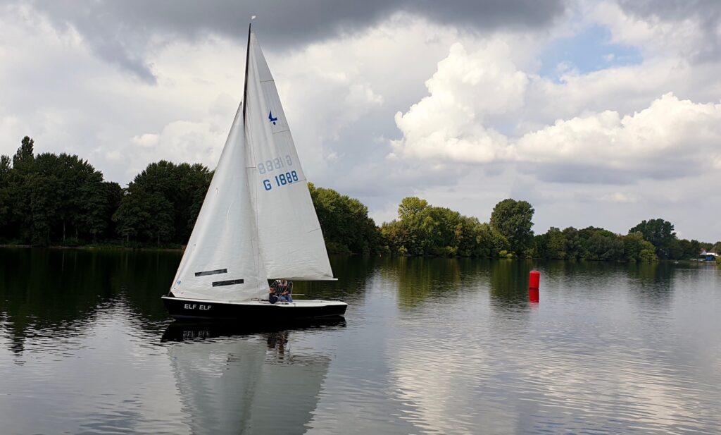 2. praktische Prüfung zum Sportboot-Führerschein Binnen am 9. September 15