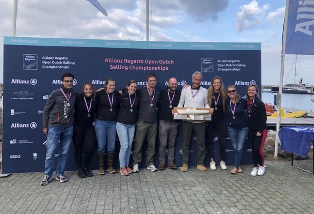 Reiner Brockerhoff gewinnt Dutch Open in der J22 1