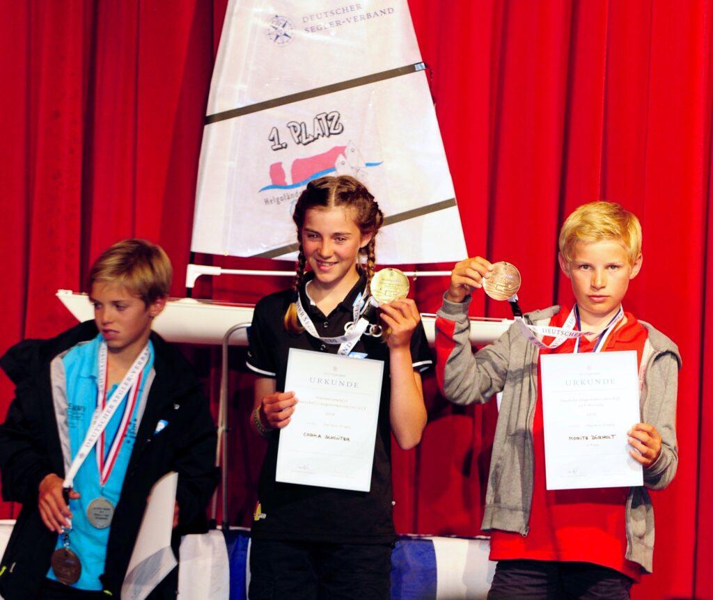 Deutsche Opti-Jüngsten-Meisterschaft auf Helgoland 1