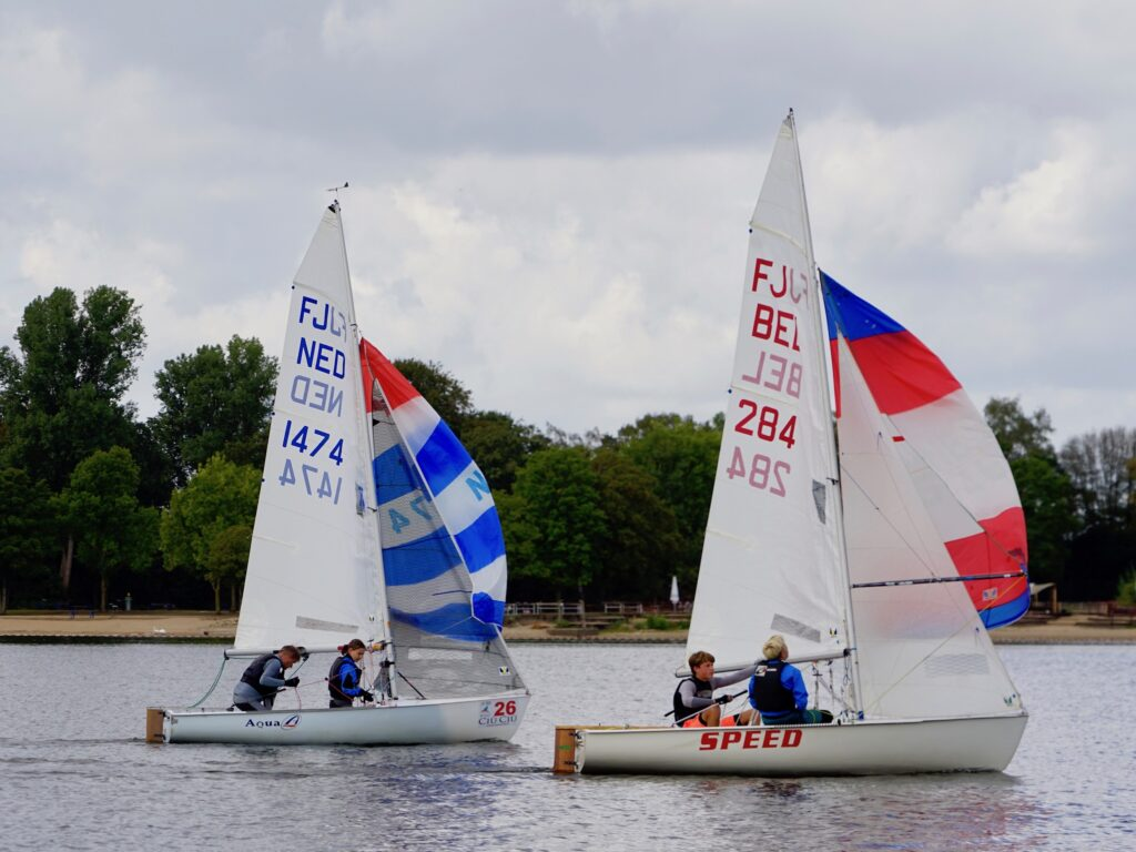 Landesmeisterschaft Flying Junior am 5.9 und 6.9. 2