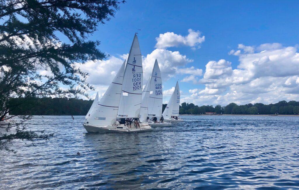Erste Ranglisten-Regatta der J22-Klasse an der 6-Seen-Platte 2