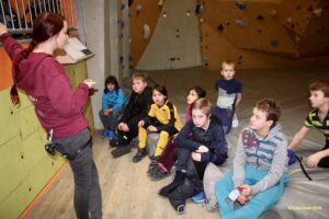 Klettertour der Opti-Kinder 1