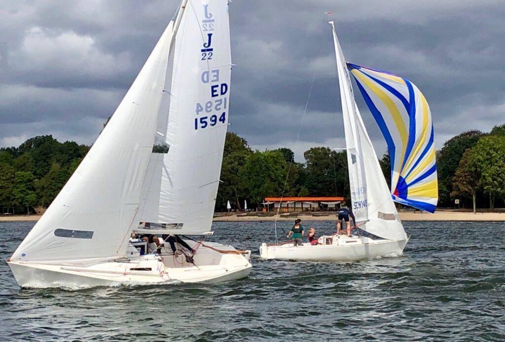 Erste Ranglisten-Regatta der J22-Klasse an der 6-Seen-Platte 31